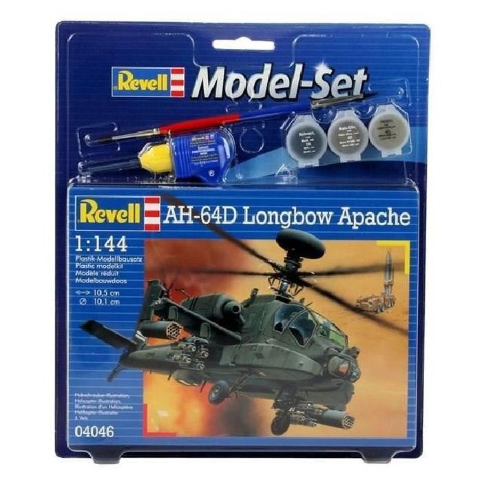 REVELL Model-Set AH-64D Longbow Apache - Maquette