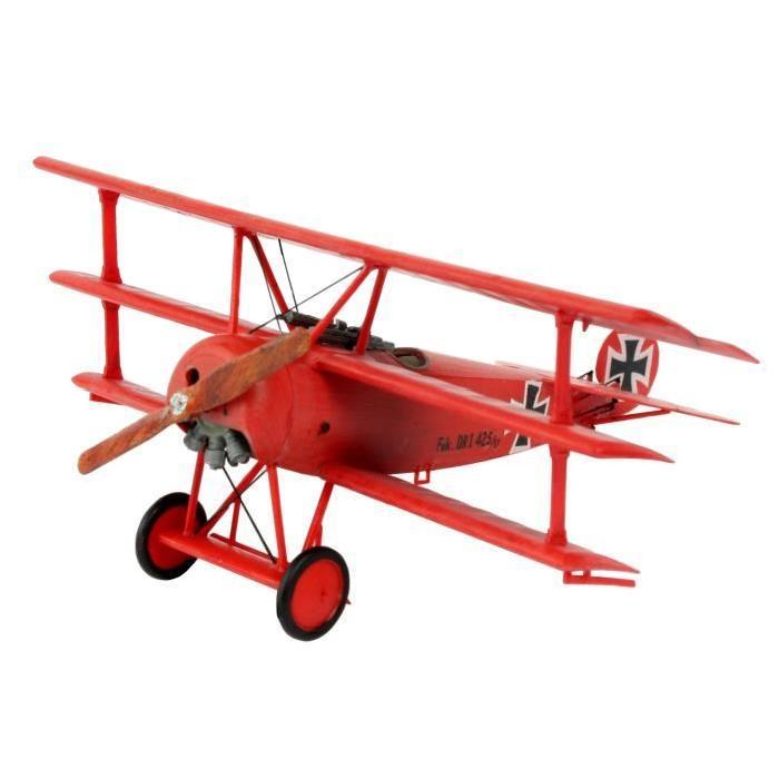 REVELL Model-Set Fokker DR. 1 Triplan - Maquette