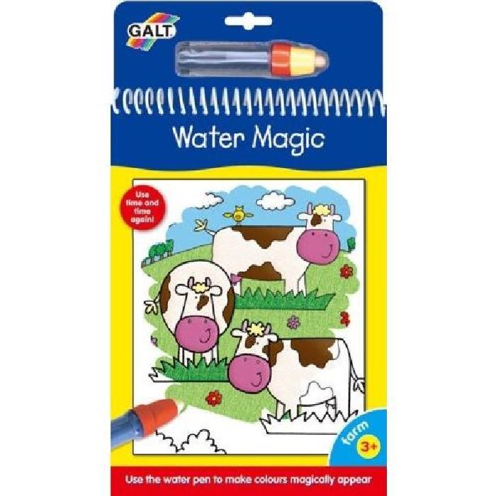 GALT Carnets de dessins Stylo magique - Water Magic Ferme