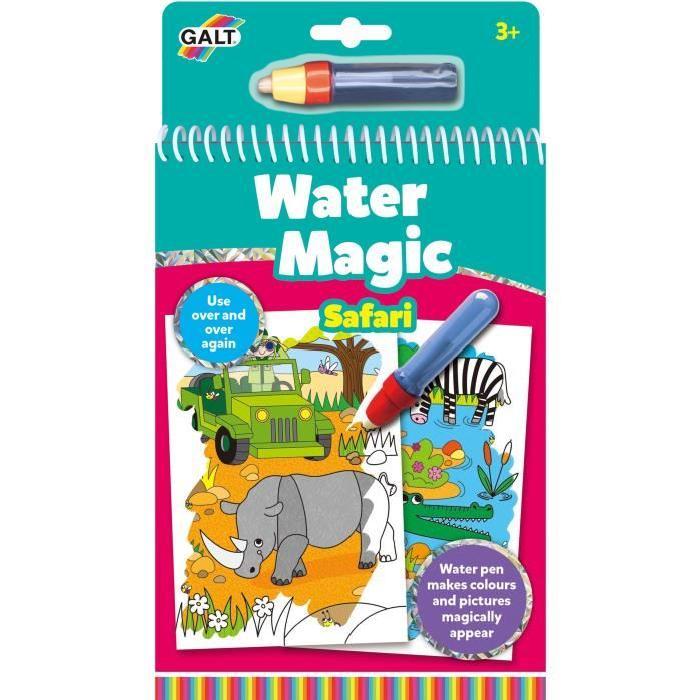 GALT Carnets de dessins Stylo magique - Water Magic Safari