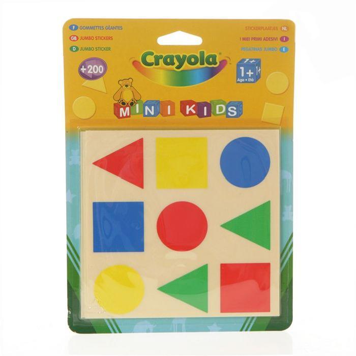 Gommettes géantes mini kids Crayola
