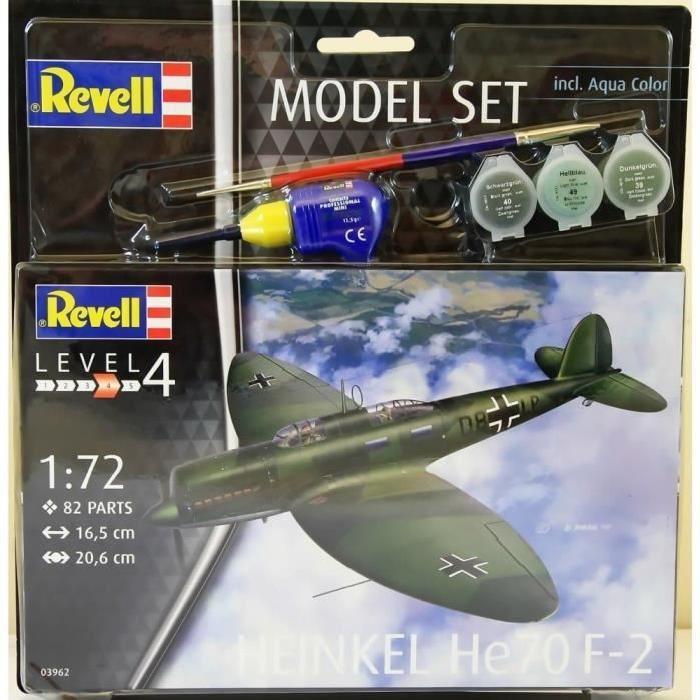 REVELL Model-Set Heinkel He70 F-2 - Maquette