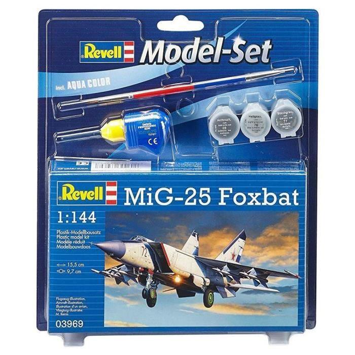 REVELL Model-Set MiG-25 Foxbat - Maquette