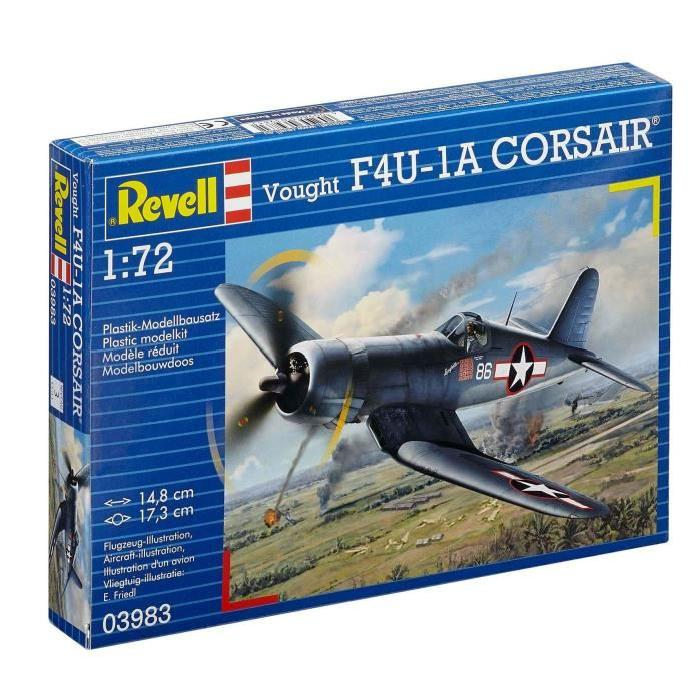 REVELL Model-Set Vought F4U-1D CORSAIR - Maquette