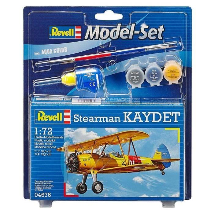 REVELL Model-Set Stearman Kaydet - Maquette