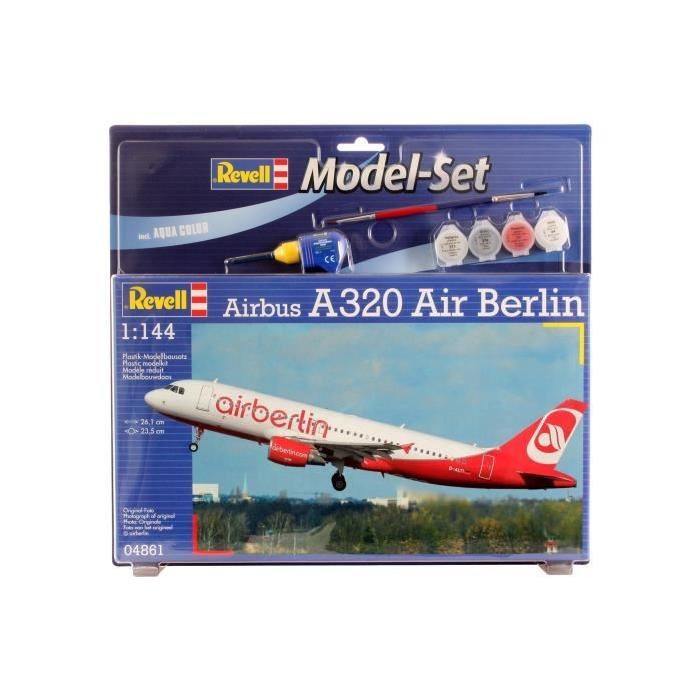 REVELL Model-Set Airbus A320 AirBerlin - Maquette