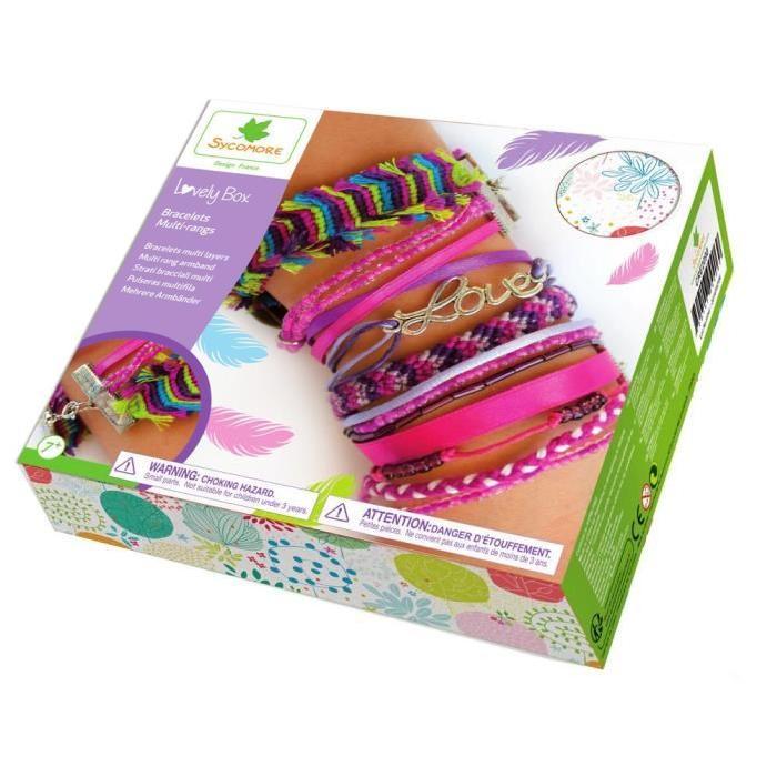 SYCOMORE Bracelets Multi Rang - Grand Modele