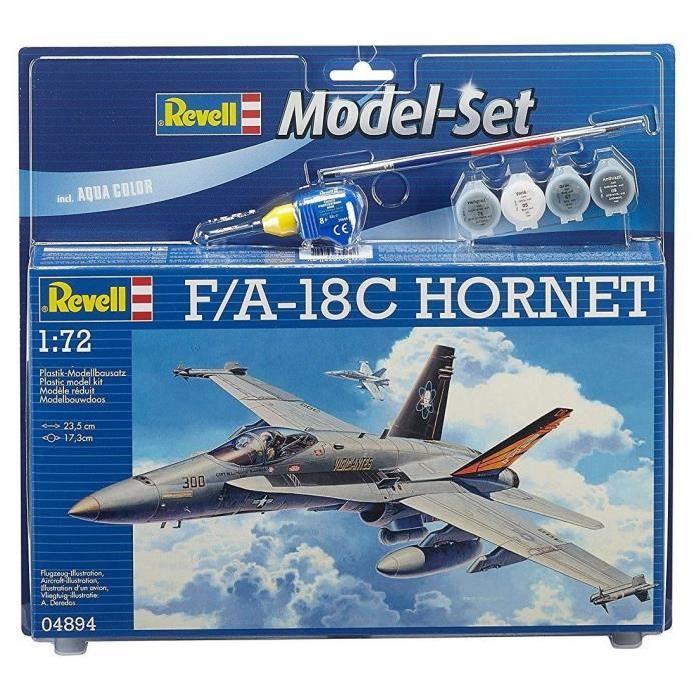 REVELL Model-Set F/A-18C HORNET - Maquette