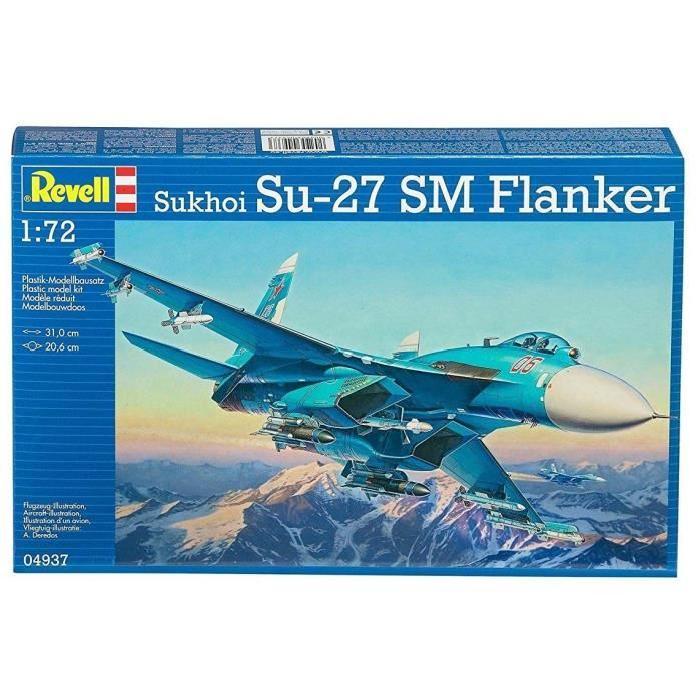 REVELL Model-Set Sukhoi Su-27 SM Flanker - Maquette