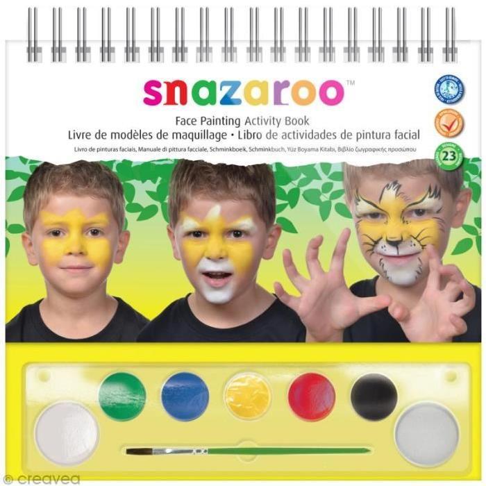SNAZAROO Guide de maquillage pas a pas