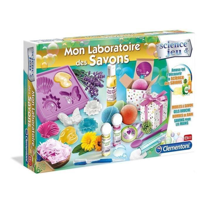 CLEMENTONI Mon laboratoire des savons