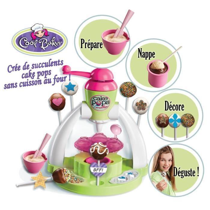 COOL BAKER La Fabrique De Cake Pops