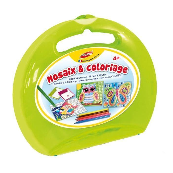 HELLER JOUSTRA Mallette Ronde Mosaix & Coloriage