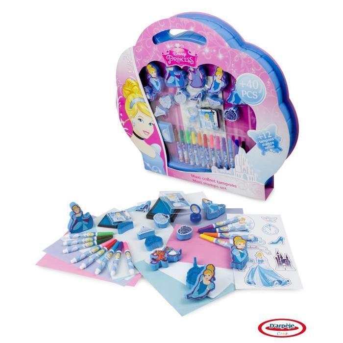 DISNEY PRINCESSES Maxi set tampons Cendrillon