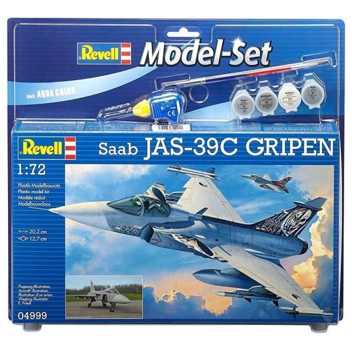 REVELL Model-Set Saab JAS-39C GRIPEN - Maquette
