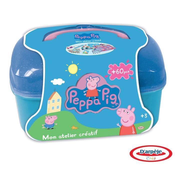 PEPPA PIG Mon Vanity - 60 Pieces