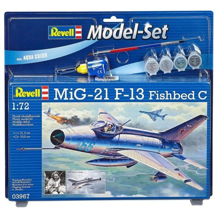 REVELL Model-Set MiG-21 F-13 Fishbed C - Maquette