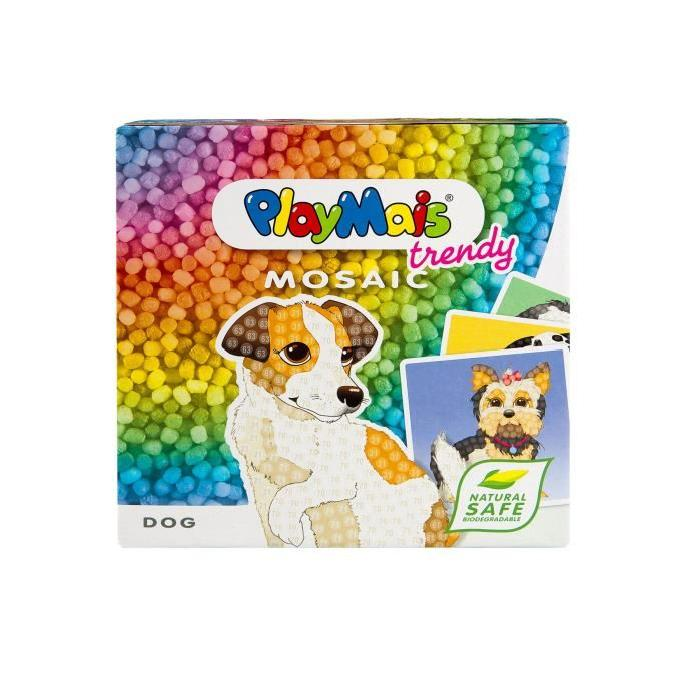 PLAYMAIS Mosaic trendy dog