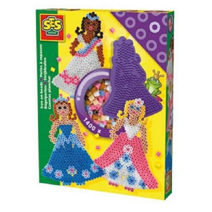 SES CREATIVE Perles a repasser Princesses