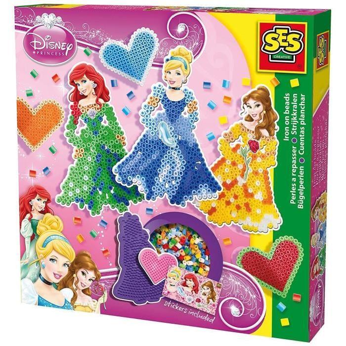SES CREATIVE Perles a repasser Princesses Disney