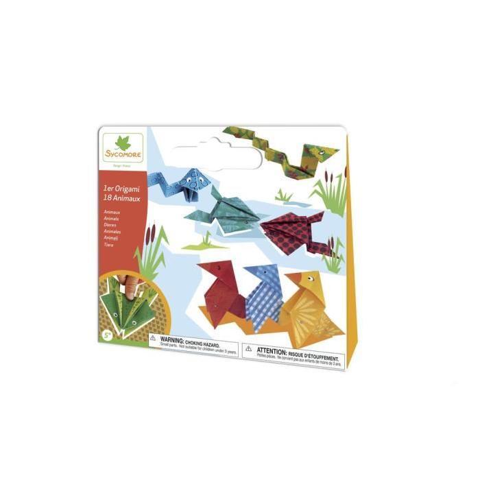 SYCOMORE Pochette Petit Modele - 1ier Origami