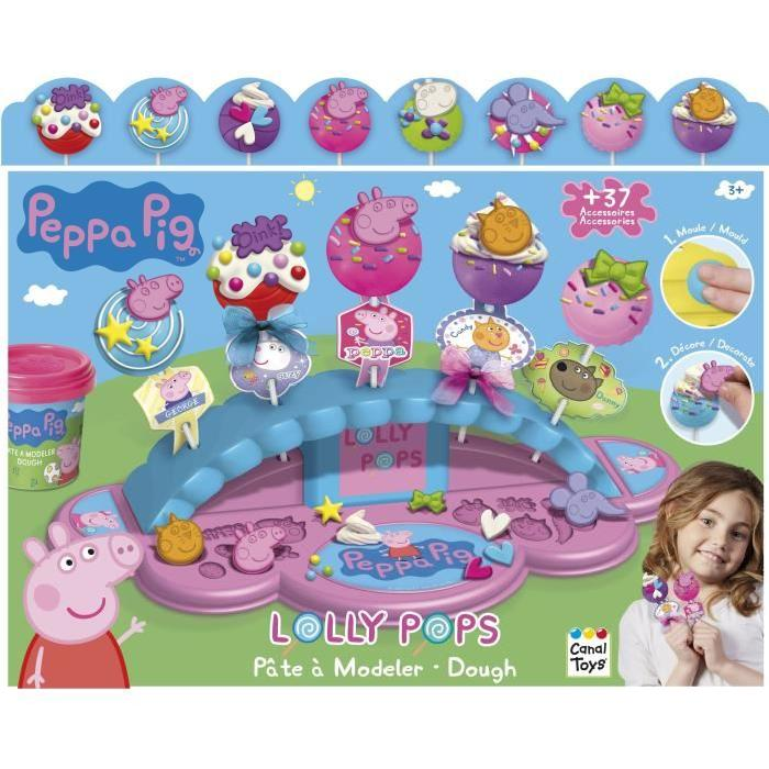 Lolly pops PEPPA PIG  - Pâte a modeler