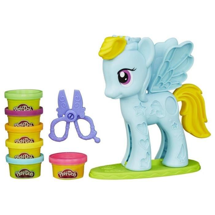 PLAY-DOH - Chevelure de Reve Rainbow Dash