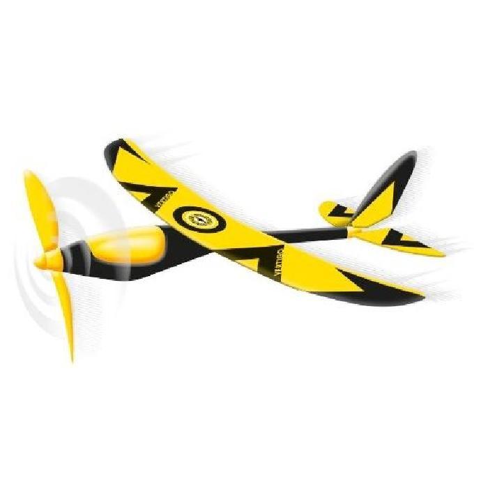 GUNTHER Avion Vertigo avec entrainement par élastique