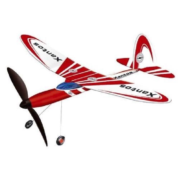 GUNTHER Avion Xantos avec entrainement par élastique