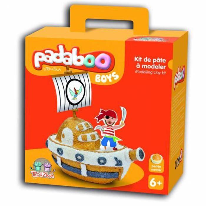 PADABOO Kit pâte a modeler: bateau pirate