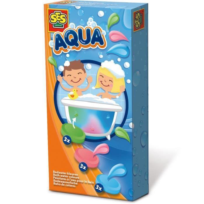 SES CREATIVE AQUA Peintures a l'eau pour le bain