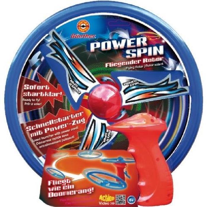 GUNTHER Hélice volante Power Spin avec lanceur
