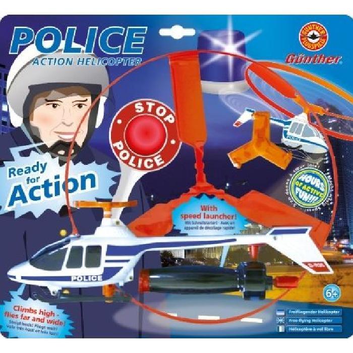 GUNTHER Hélicoptere Police avec lanceur