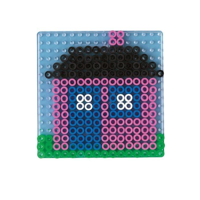HAMA Plaque transparente carrée pour perles Maxi