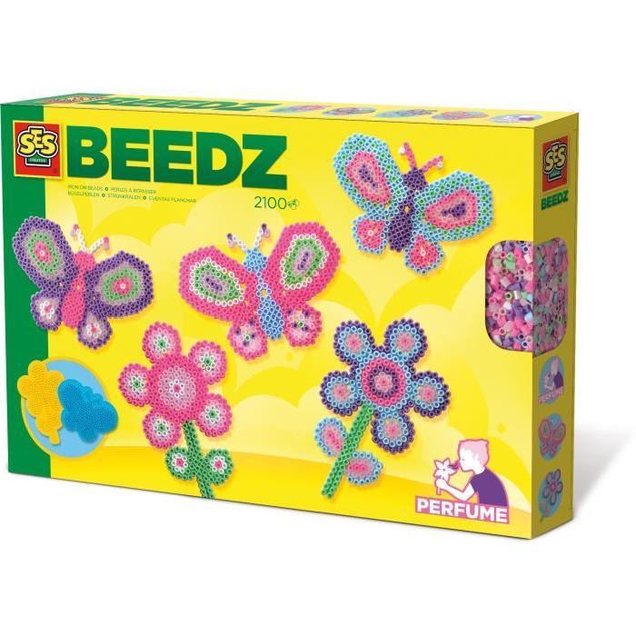 SES CREATIVE BEEDZ Perles a repasser - Jardin des papillons