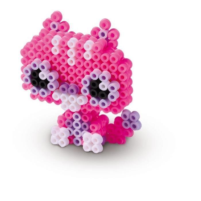 ses creative beedz tes amis les animaux en 3d avec des perles a repasser. Black Bedroom Furniture Sets. Home Design Ideas