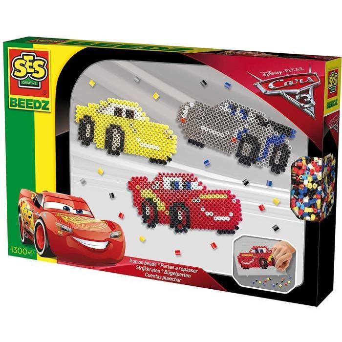 SES CREATIVE BEEDZ Perles a repasser Disney Cars 3