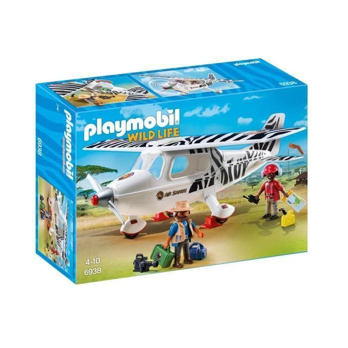 PLAYMOBIL 6938 Avion avec Explorateurs