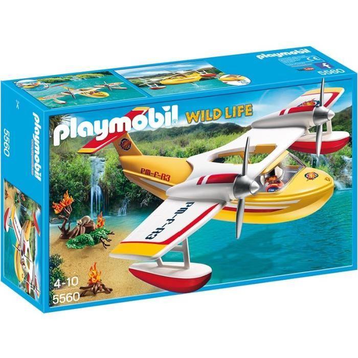 PLAYMOBIL Hydravion de sauvetage Designers