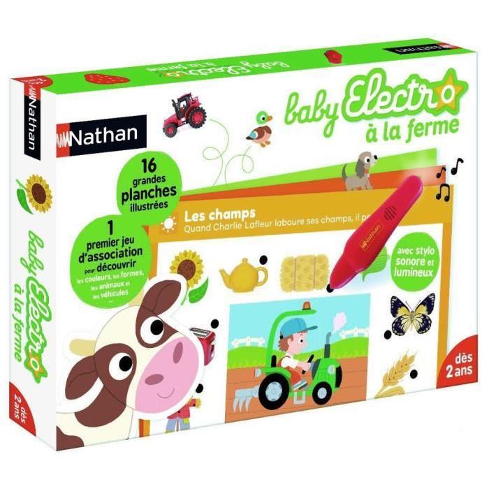 NATHAN Questions-Réponses Baby Electro La Ferme