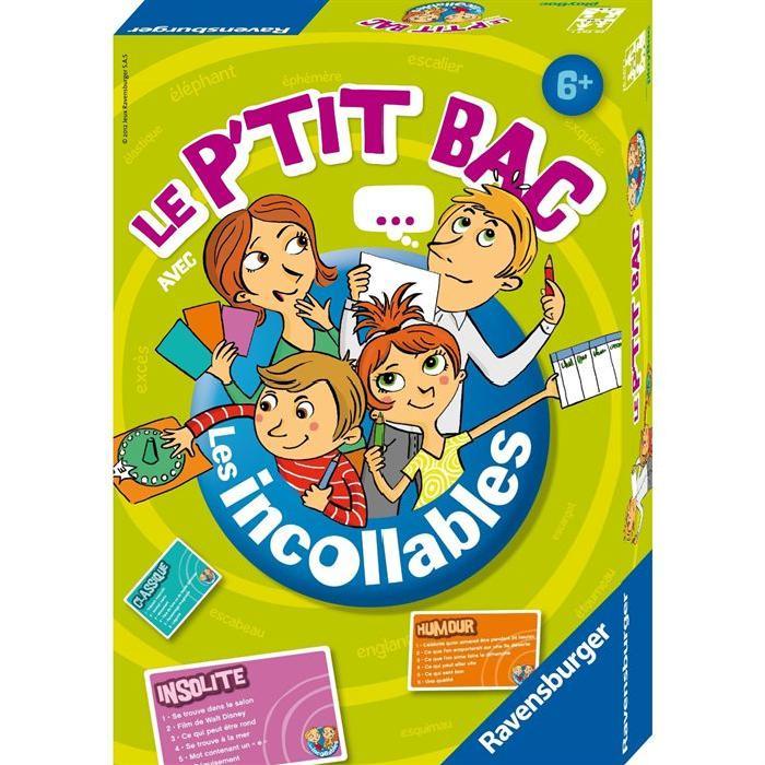 LES INCOLLABLES Le Petit Bac