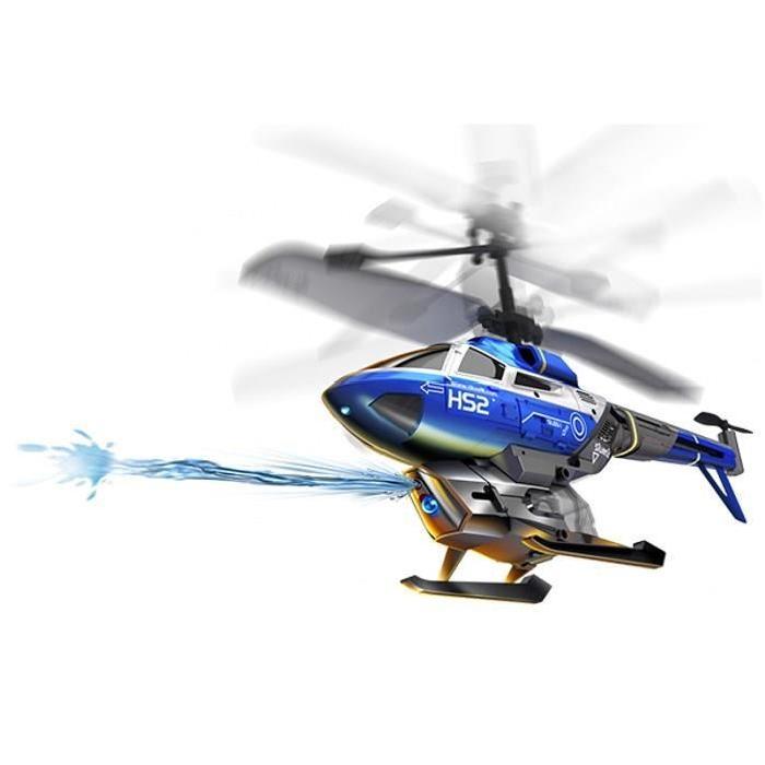 SILVERLIT Hélicoptere Télécommandé  Héli Splash 22 cm - Bleu
