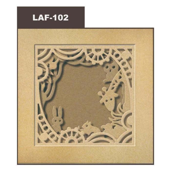 DOCRAFTS Lot de 36 feuilles de papier scrapbooking Geometric Kraft - 15,2 x 15,2 cm