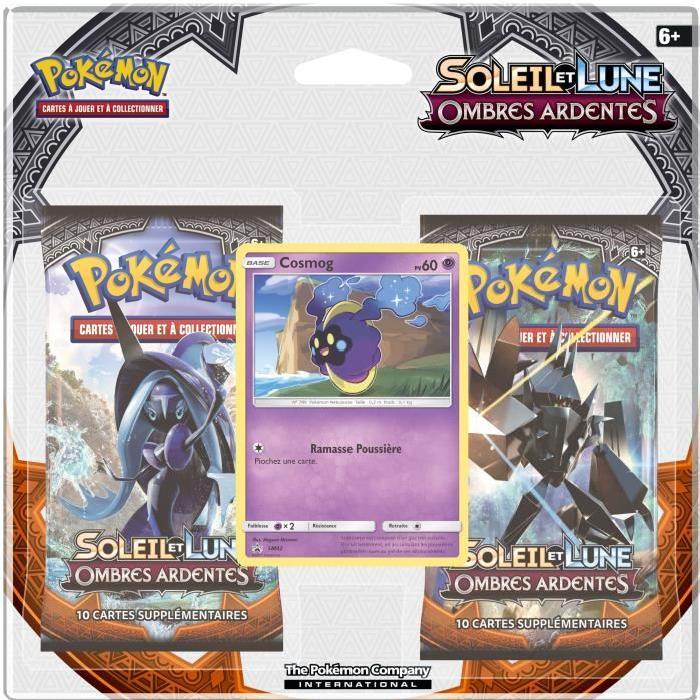 POKEMON Pack 2 boosters Pokémon SL03