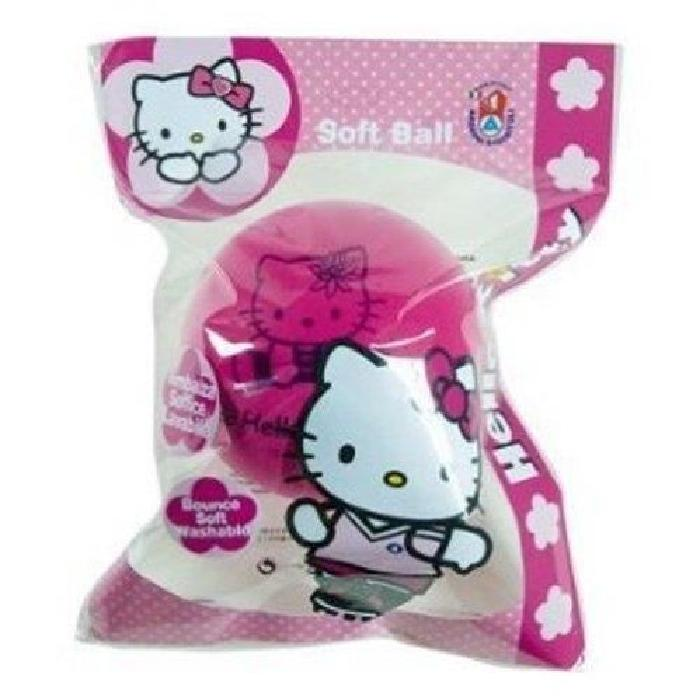 HELLO KITTY Ballon en mousse - Ø 120 cm - Rose