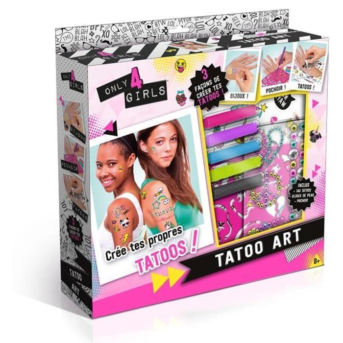 TATOO ART - Crée tes propres tatoos
