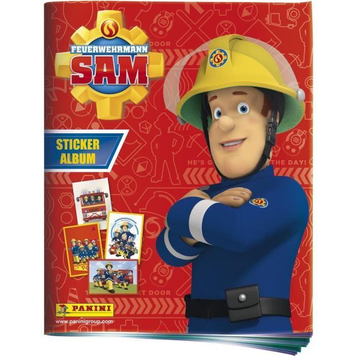 PANINI Album Sam Le Pompier