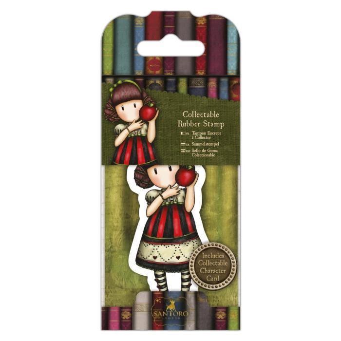 SANTORO Mini tampon cling Gorjuss - Friendly Hedgedog - N°35