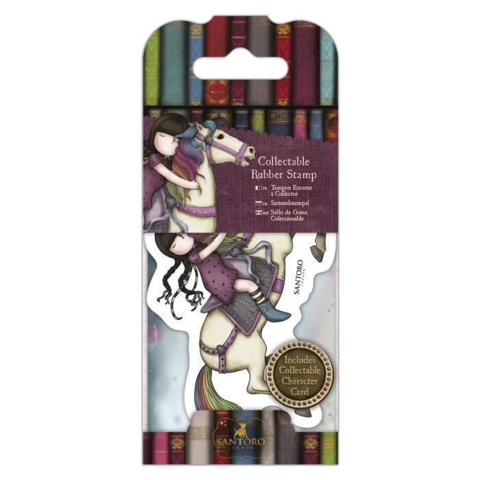 SANTORO Mini tampon cling Gorjuss - Rainy daze - N°36