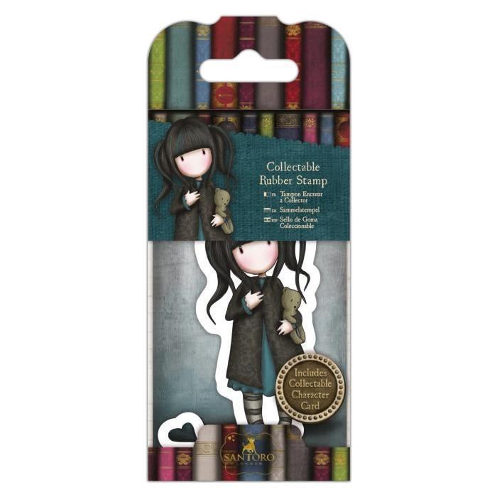 SANTORO Mini tampon cling Gorjuss - Dear apple - N°37